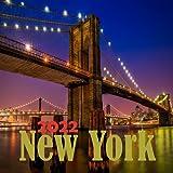 New York 2022 calendar: New York 2022 Calendar, Size 8.5 x 8.5 Inch,18 Month Calendar 2022-2023 For Women, Men, Kids & New york Lovers