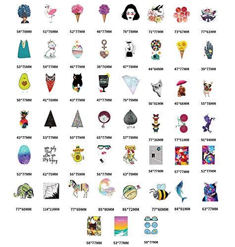 Niedliche Aufkleber (105 Stück), Laptop- und Wasserflaschen-Aufkleber, ästhetische Aufkleber für Teenager, Mädchen, Frauen, Vsco Vinyl-Aufkleber