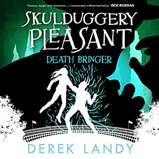 Death Bringer audiobook cover art