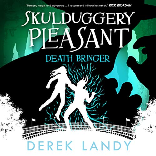 Death Bringer     Skulduggery Pleasant, Book 6              By:                                                                                                                                 Derek Landy                               Narrated by:                                                                                                                                 Stephen Hogan                      Length: 13 hrs and 50 mins     1 rating     Overall 5.0