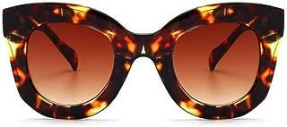 Butterfly Sunglasses Semi Cat Eye Glasses Plastic Frame Clear Gradient Lenses