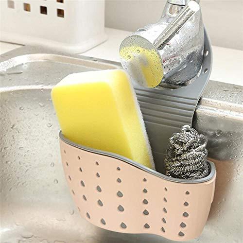 XCVB wastafel plank zeep spons afvoer rack keuken zuignap opslag gereedschap 13x22Cm keuken opslag draagbare plank beugel handige zuignap