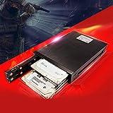 Guoshiy Caja de Disco Duro de 2,5 Pulgadas, Caja de Unidad, Carcasa Interna, para Disco Duro SSD de Disco Duro SATA