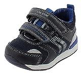 Geox Chaussures pour bébé garçon B Rishon Boy First Walker - - DK Navy Grey, 20 EU