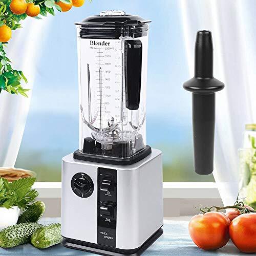 2.2L Blender Smoothie Shake Blender Multifunction Food Processor for Kitchen Countertop 9...