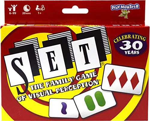 SET: The Family Game of Visual Perception, Baby 12/18 Months