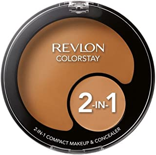 Revlon ColorStay 2-in-1 Compact Makeup & Concealer, Caramel