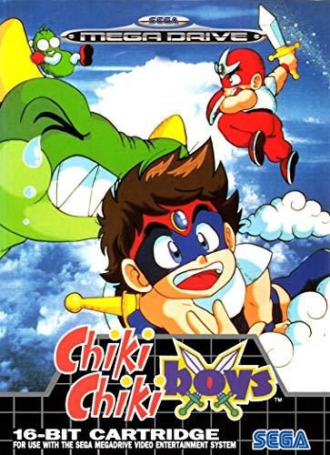 Póster de Eliteprint Chiki Chiki Boys Sega Mega Drive Classic Retro A3...