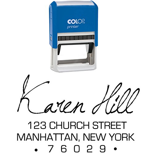 Personalisierte Unterschrift Stempel Individuelle Schreibwaren Familie Adress Stempel Selbst Farbwerk