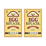 Vegan Egg Replacer by Ener-G   Gluten Free, Vegan, Nut Free, Non-GMO, Kosher   16 oz Package   2-Pack