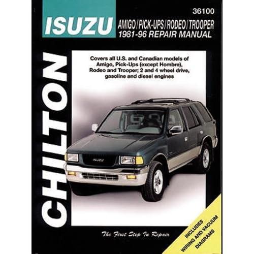 2001 isuzu rodeo manual transmission