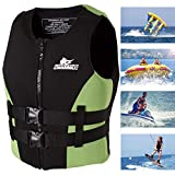Giacca Adult Swim Impact Vest Giubbotto Ideale galleggiabilità soccorso Gilet immersioni subacquee per la nautica kayak Canottaggio altura, snorkeling, pesca, Motor Nautica, Sport acquatici,XL