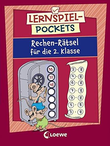 Lernspiel-Pockets - Rechen-Rätsel für die 2. Klasse