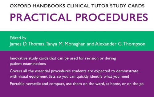 Oxford Handbooks Clinical Tutor Study Cards: Procedures (Oxford Handbooks Study Cards)