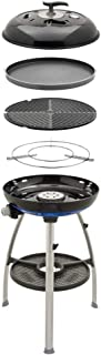 Cadac - Carri Barbecue Cheff 2 Gas Powered BBQ/Chef Pan Combo Black