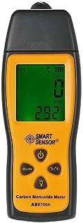 Bodbii SENSOR INTELIGENTE AS8700A portátil monóxido de carbono medidor digital de gran precisión CO del detector de escape del analizador 1000 ppm Rango