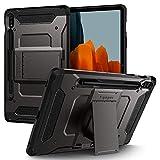 Spigen Tough Armor Pro Compatibile con Samsung Galaxy Tab S7 Funda con Soporte de S Pen (2020) - Gunmetal