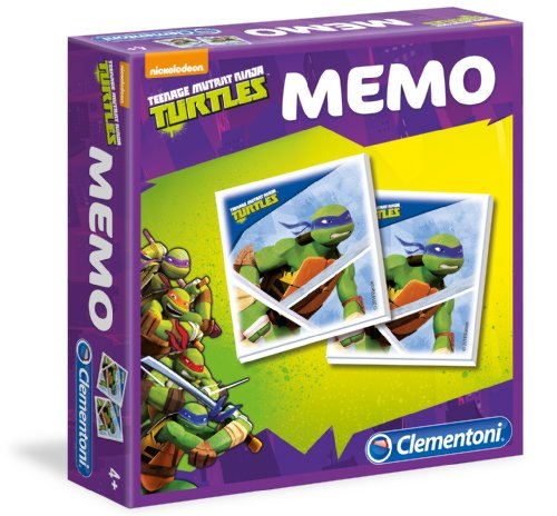 Clementoni – Jeu éducatif Memo Tortues Ninja