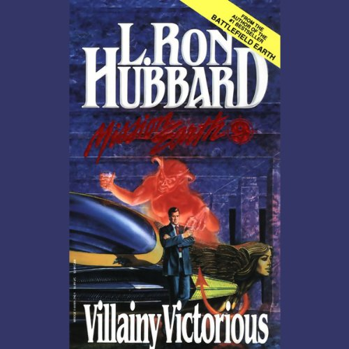 Villainy Victorious audiobook cover art