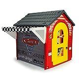 INJUSA - Casa de Juguete Garaje Cars Recomendada a Niños +3