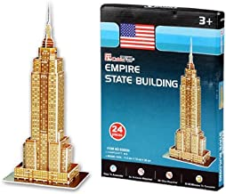 Cubic Fun S3003h 24-Piece Mini Empire State Building Paper 3D Jigsaw Puzzle