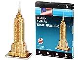 Juguetes educativos DDL Cubic Fun S3003h 24 Piezas Mini Empire State Building de Papel 3D Jigsaw Puzzle