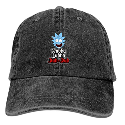 Gorra de béisbol Wubba Lubba Dub Dub para hombre y mujer, gorras de béisbol