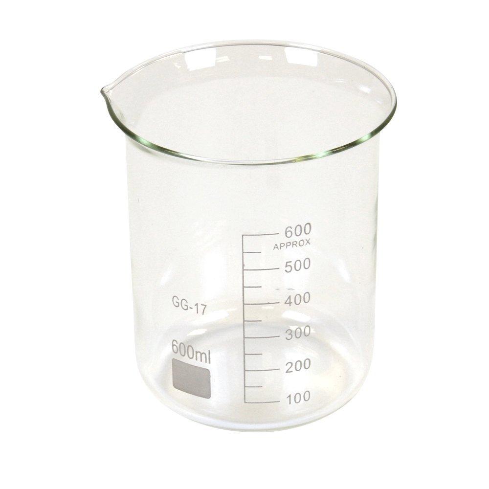 hand2mind 4 years warranty San Diego Mall 600ml Borosilicate Glass Beakers 6 Pack of