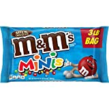M&M'S Milk Chocolate MINIS Candy 3-Lb. Bulk Candy Bag