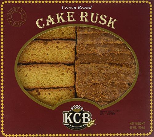 KCB - Crown Cake Rusk, 25 Ounce