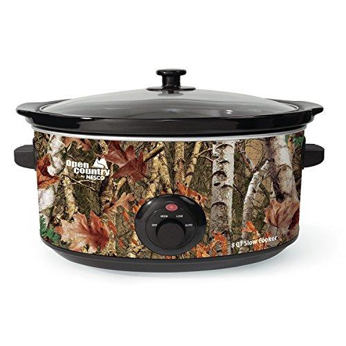 Buy Bargain Nesco 8-Quart Oval Woodland Birch Camouflage Slow Cooker