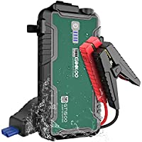 GOOLOO 1500A Portable Car Jump Starter GT1500 with USB Quick Charge 3.0 (Up to 8.0L Gas, 6.0L Diesel Engine)