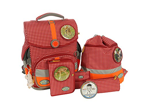 School-Mood 7-teiliges Schulranzenset Timeless M.B.in verschiedenen Designs (Lissy)