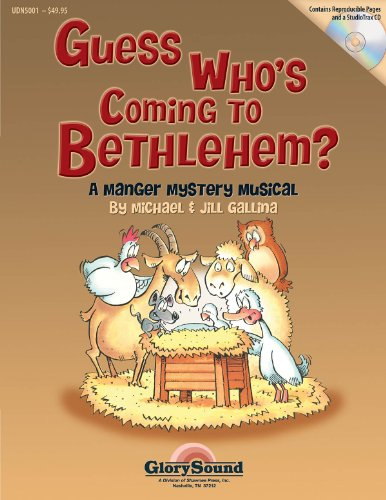Guess Who\'s Coming to Bethlehem? - Choral Book and CD Package