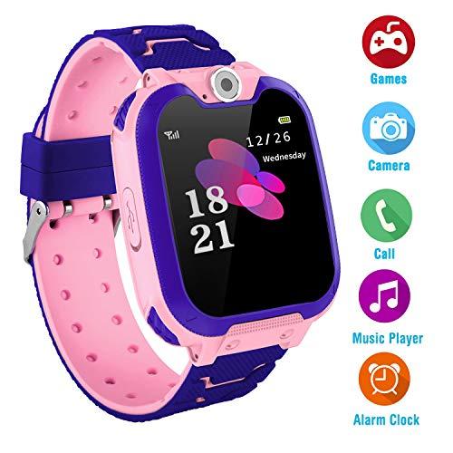 Kinder Musik Smart Watch für 3-12 Jahre alte Jungen Mädchen mit Kamera Spiel Smartwatch Birthday Gift