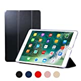 RUBAN Case for iPad Air 3 10.5 Inch 2019, iPad Pro 10.5 Case 2017 - Slim Lightweight Protective Smart Shell Anti-Scratch Non-Slip Flexible Soft TPU Back Cover Stand [Auto Sleep/Wake], Navy Blue
