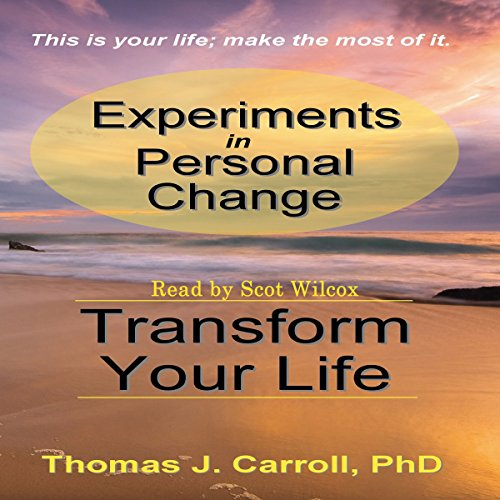 Experiments in Personal Change audiobook cover art