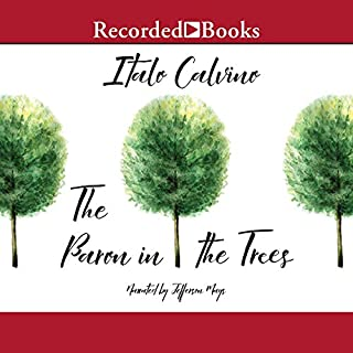The Baron in the Trees                   By:                                                                                                                                 Italo Calvino,                                                                                        Ana Goldstein - translator                               Narrated by:                                                                                                                                 Jefferson Mays                      Length: 8 hrs and 47 mins     17 ratings     Overall 4.4