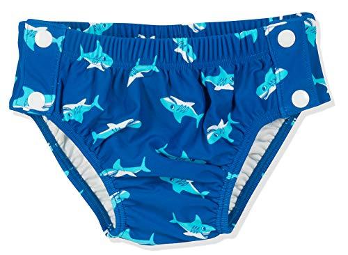 Playshoes Baby UV-Schutz Windelhose Hai zum Knöpfen, Schwimmwindel