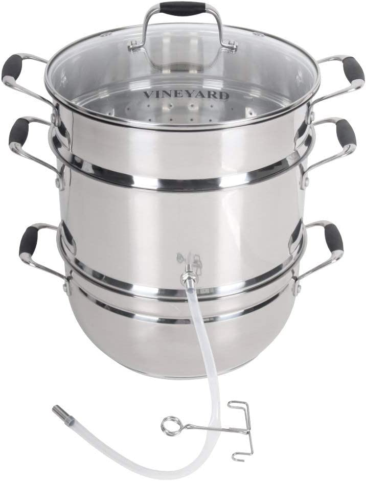 Roots Branches Deluxe Stainless Steel Juicer New Free Shipping with Temper Max 52% OFF Steam