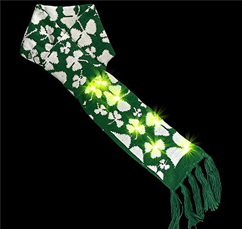 Best Price DollarItemDirect 5 x 35 inches St.Patrick Light-Up Scarf, Case of 36