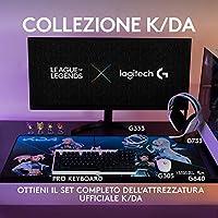 Logitech G305 K/DA LIGHTSPEED Mouse Gaming Wireless, Attrezzatura Ufficiale di League of Legends, Sensore HERO, Leggero, Tasti Programmabili, Autonomia 250h, Memoria Integrata - Bianco #2