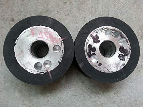 Review Of Xucus 30010032mm 12''x4''x1.25'' Rubber Wheel Belt Sander Polisher Wheel for Sanding Belt