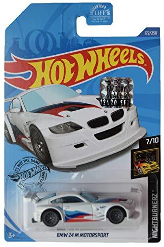 DieCast Hotwheels [B M W Z4 M Motorsport], 2020 Factory Sealed Sticker/ Ship in Protector case