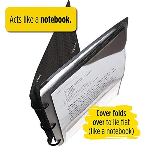 Five Star Flex NoteBinder, 1 Inch Binder, Customizable, Notebook and Binder All-in-One, Black (29326AA2) Photo #8