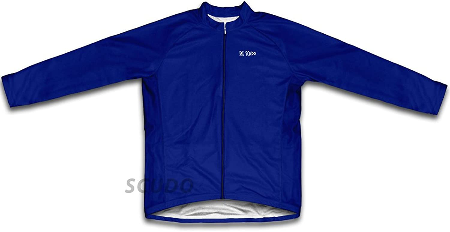 Navy Long Sleeve Cycling Jersey for Women