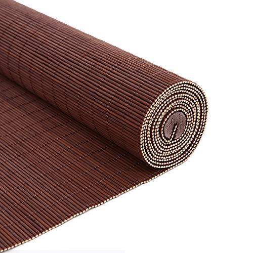 YILANJUN Estores Ventana - Personalizables - Persiana de Bambú Interiores - Cortina Puertas y Ventanas - Persianas Enrollables