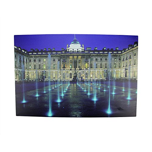 Northlight LED Lighted Famous Somerset House London Canvas Wall Art, 15.75' x 23.5'
