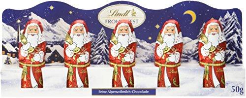 Lindt & Sprüngli Mini-Weihnachtsmann, 3er Pack (3 x 50 g)