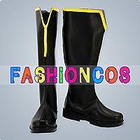 サイズ選択可女性23.5CM UA0406 テイルズ オブ ヴェスペリア ~The First Strike~ ユーリ フレン コスプレ靴 ブーツ